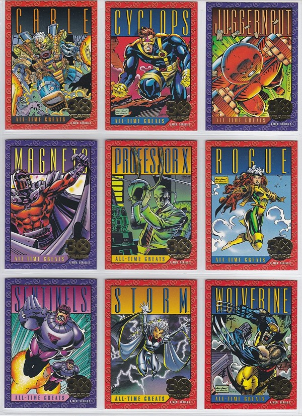 1993 X-Men Collector's Cards