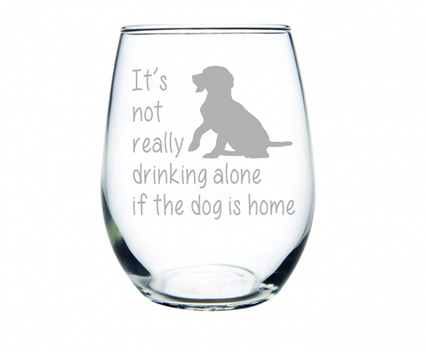 Stemless Wine Glass from CM