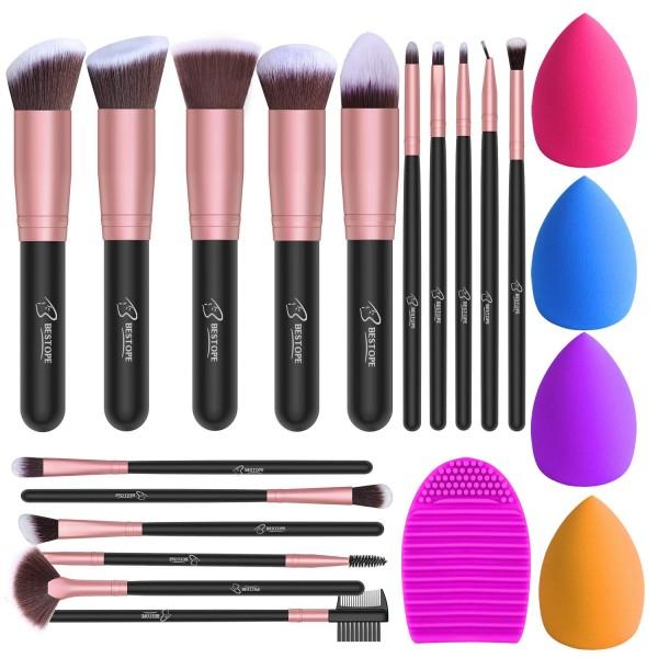 BESTOPE Makeup Brushes Set