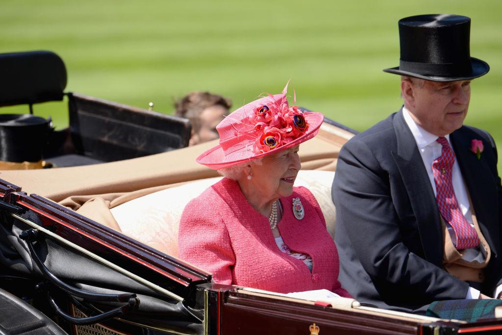 Prince Andrew, Duke of York, Queen Elizabeth II