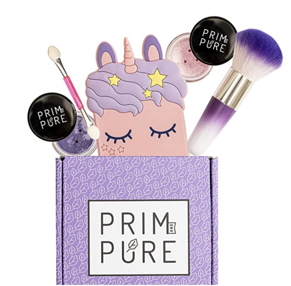 Prim and Pure Mineral Gift Set with Unicorn Mirror