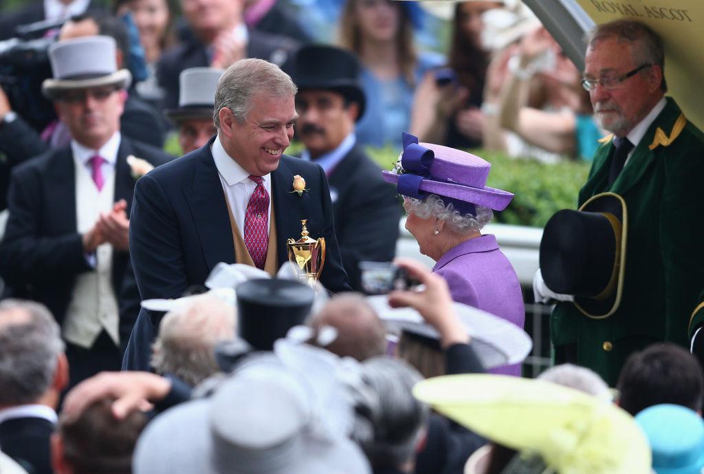 Prince Andrew, Queen Elizabeth II