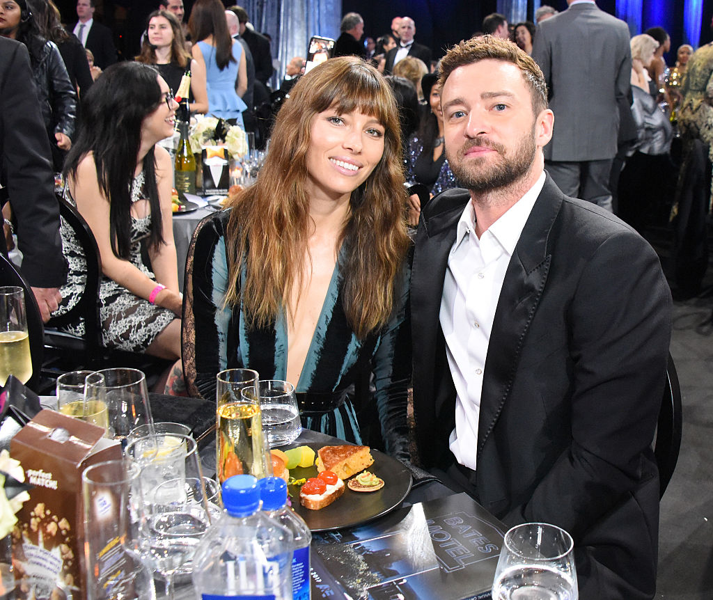 Jessica Biel and Justin Timberlake at 22nd Annual Critic's Choice Awards