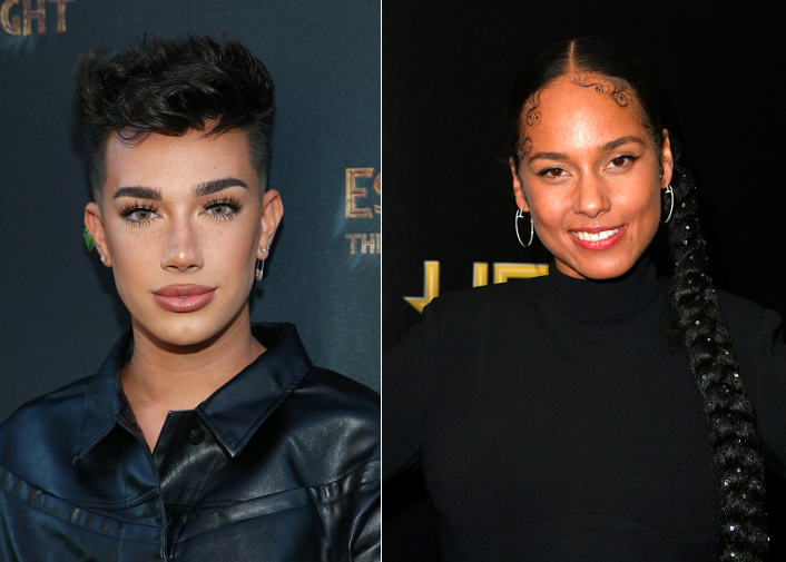 James Charles, Alicia Keys