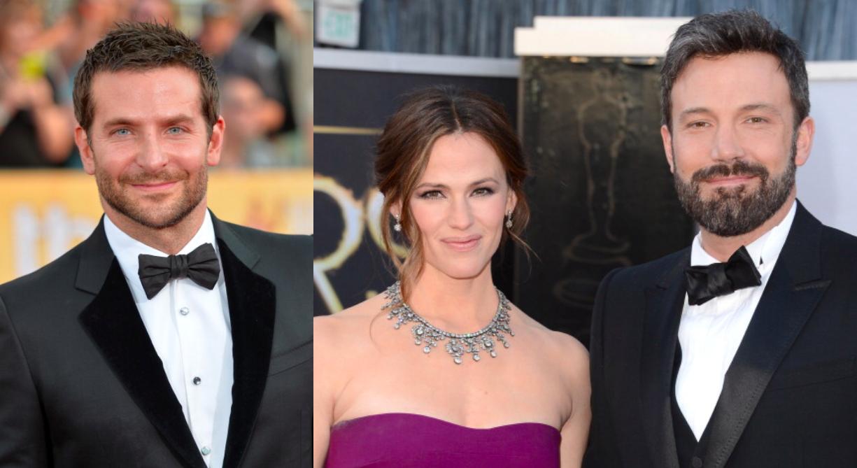 Bradley Cooper, Jennifer Garner, Ben Affleck
