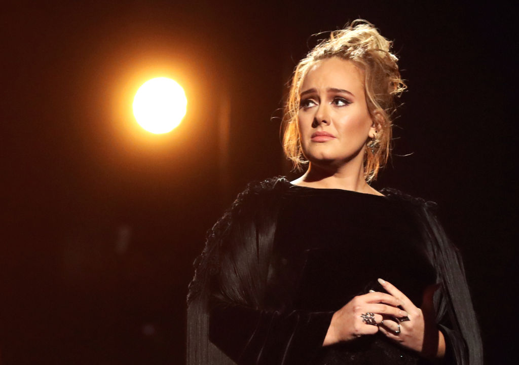 "Adele celebrated the 10-year anniversary of ""21"""