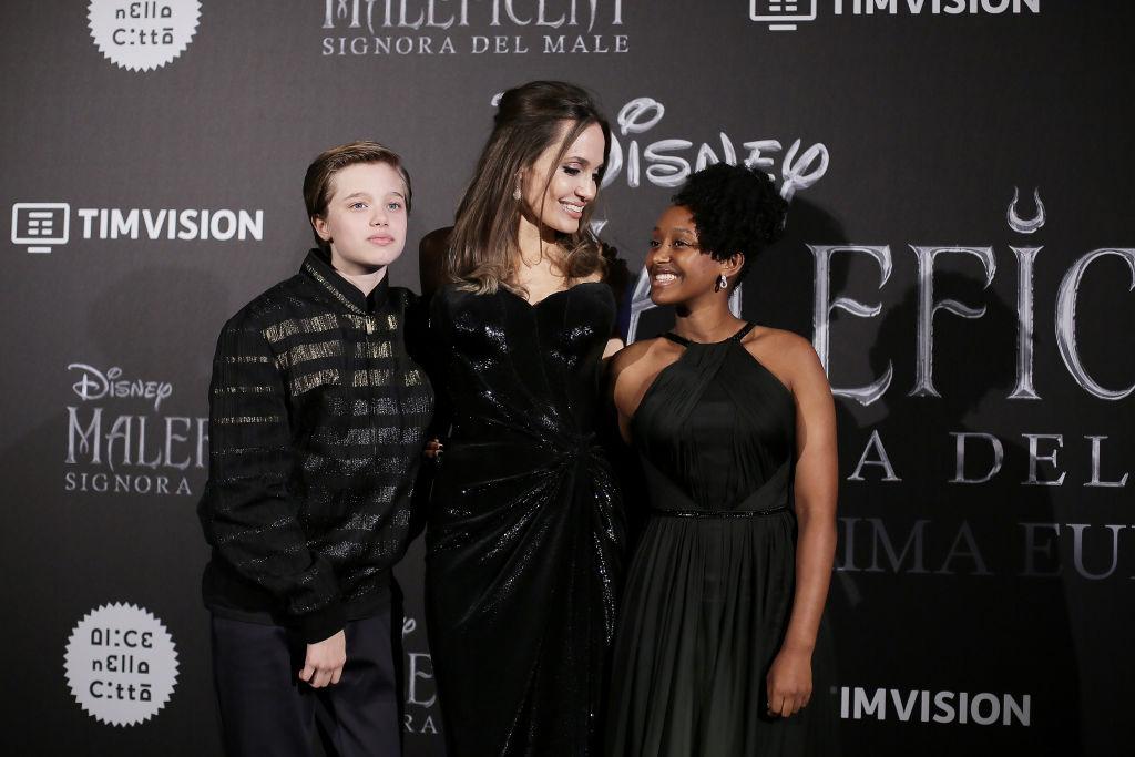 Shiloh Jolie-Pitt, Angelina Jolie, Zahara Jolie-Pitt