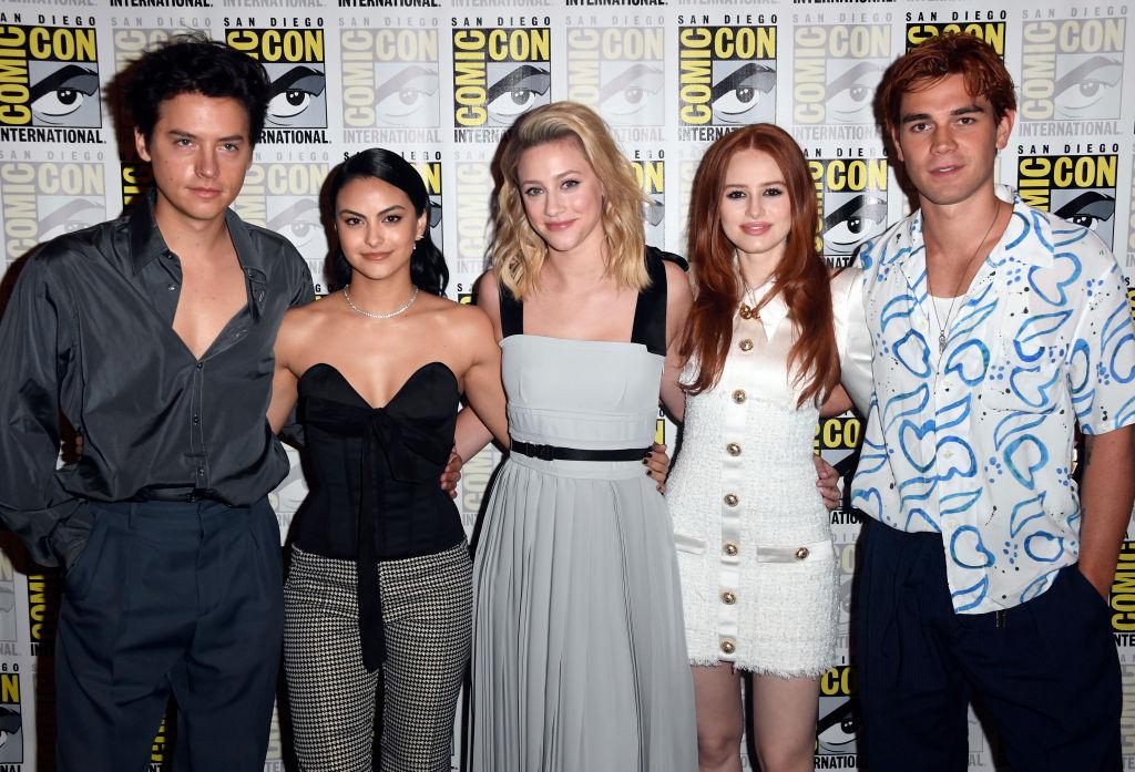 Riverdale cast - Cole Sprouse, Camila Mendes, Lili Reinhart, Madeleine Petsch, KJ Apa