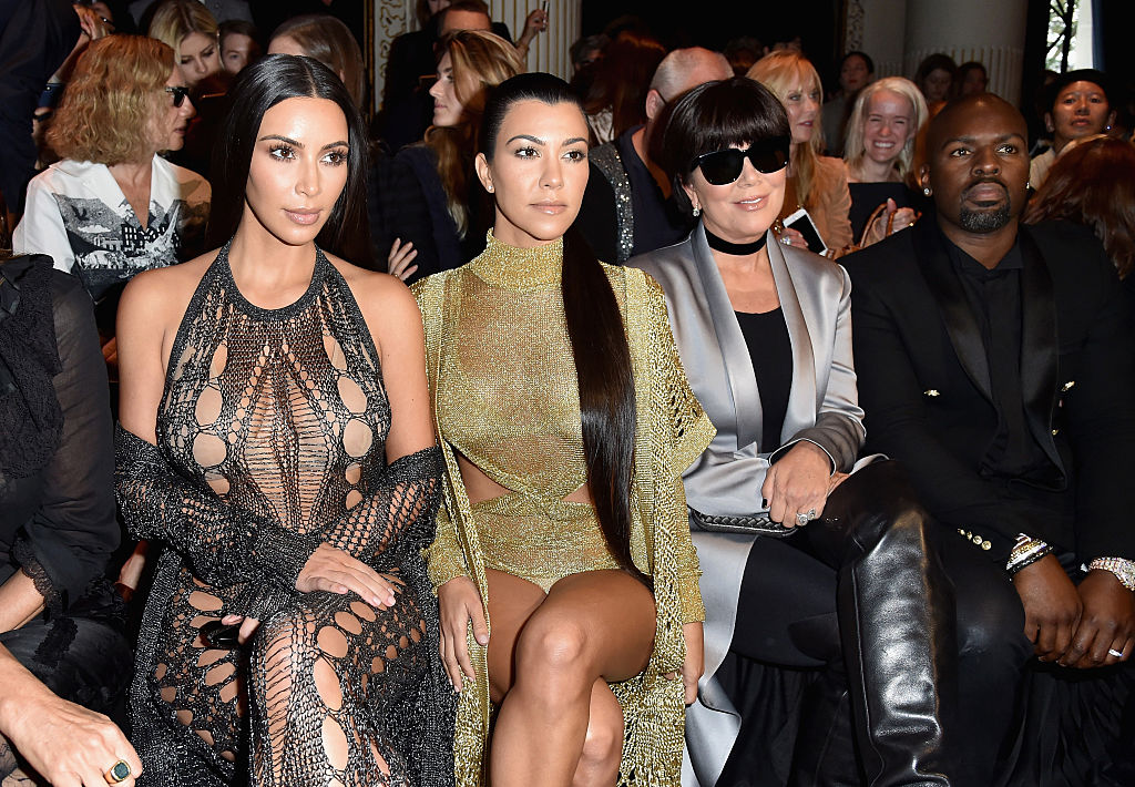 Kim Kardashian, Kourtney Kardashian, Kris Jenner