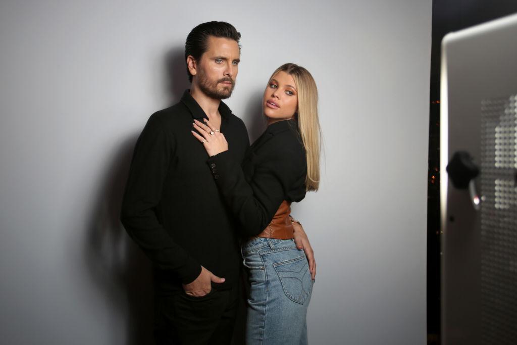 Scott Disick and Sophia Richie