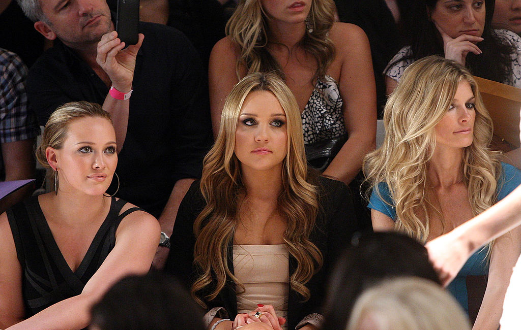 Herve Leger - Front Row - Spring 2010 MBFW