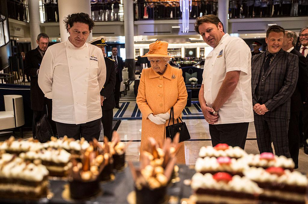 The Queen And Duke Of Edinburgh Attend Naming Ceremony Of P&O Cruise Ship Britannia