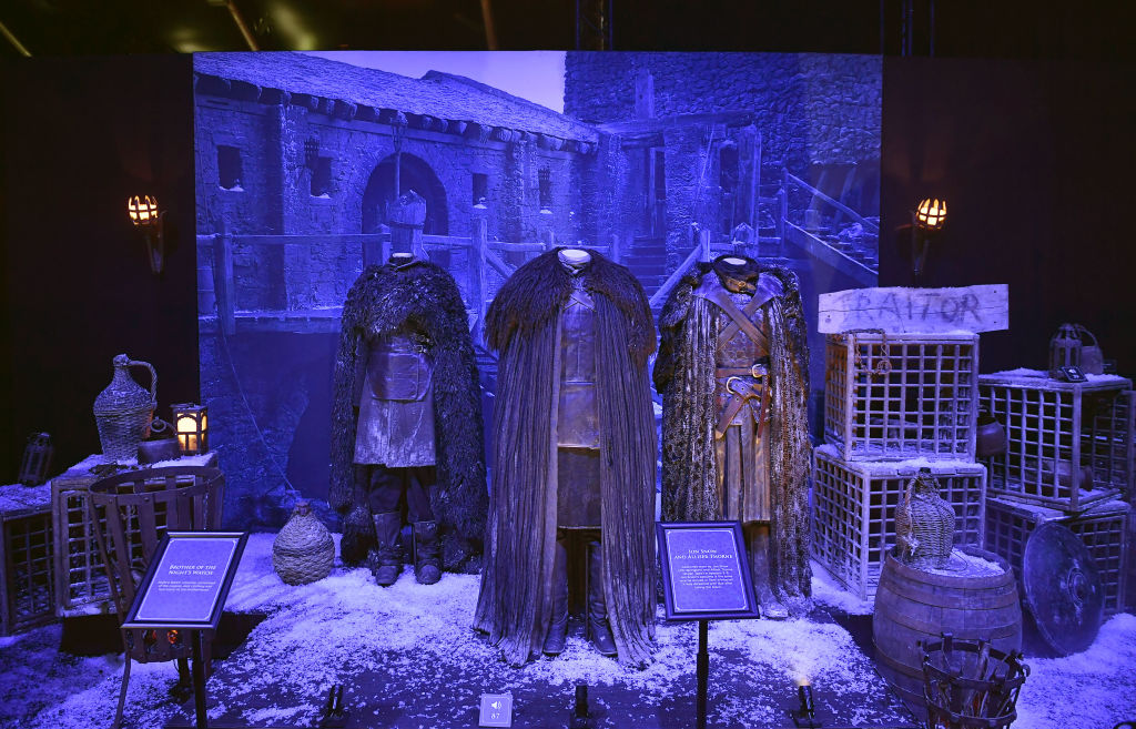 Game Of Thrones: The Touring Exhibtion - Press Conference