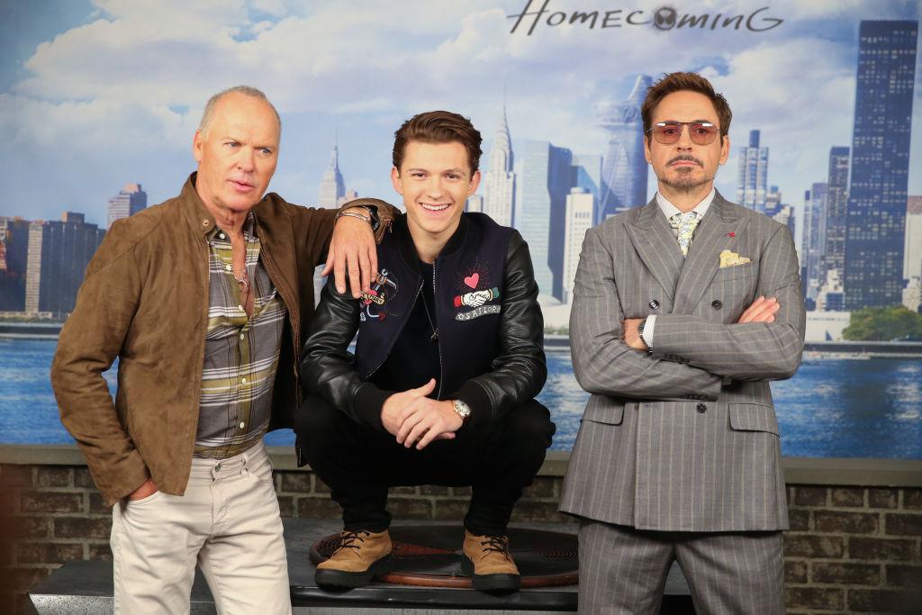 Robert Downey Jr. in Spider-Man 3, Tom Holland