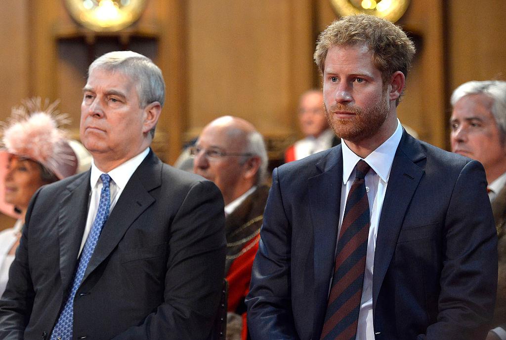 Prince Andrew, Prince Harry