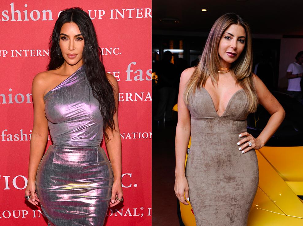 Kim Kardashian, Larsa Pippen