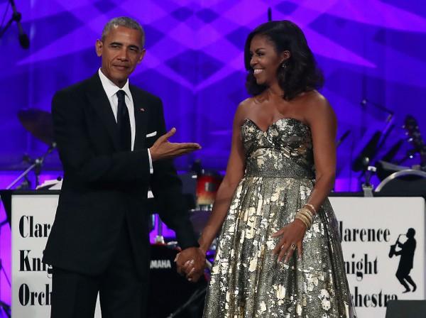 Barack, Michelle Obama