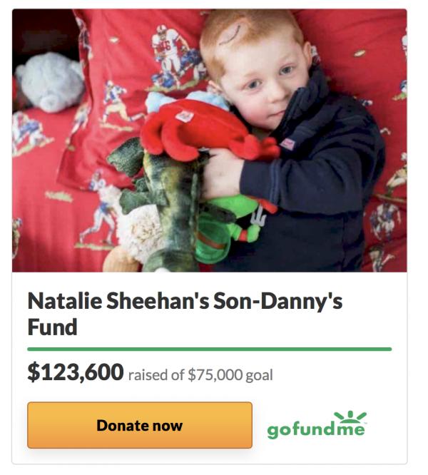 Donate to Danny Sheeran
