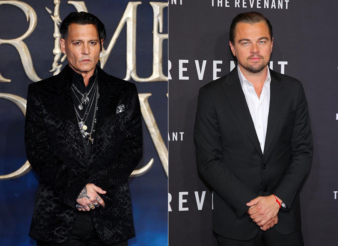 Johnny Depp, Leonardo DiCaprio