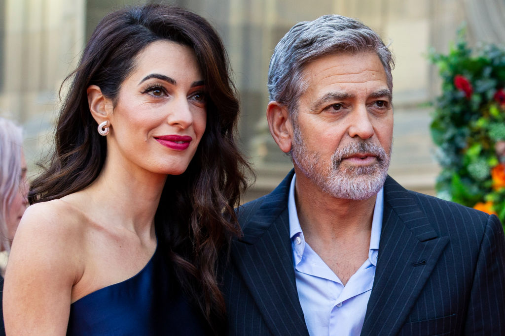 Geore and Amal Clooney