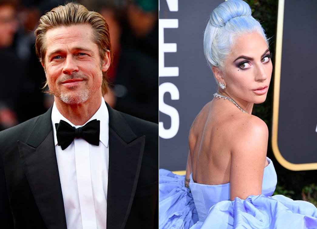 Brad Pitt, Lady Gaga
