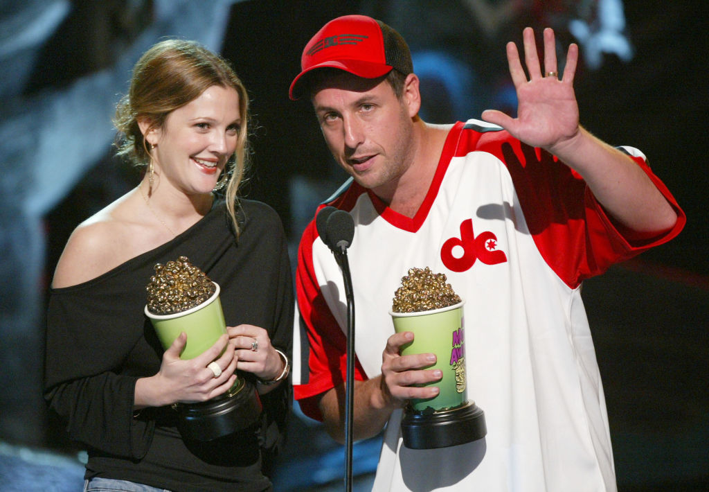 Adam Sandler and Drew Barrymore