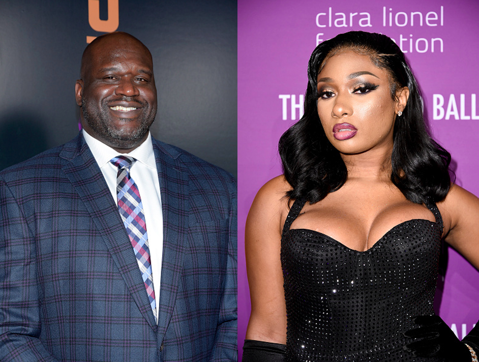 shaquille o'neal, megan thee stallion