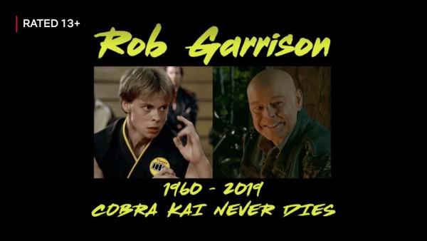 Rob Garrison Tribute