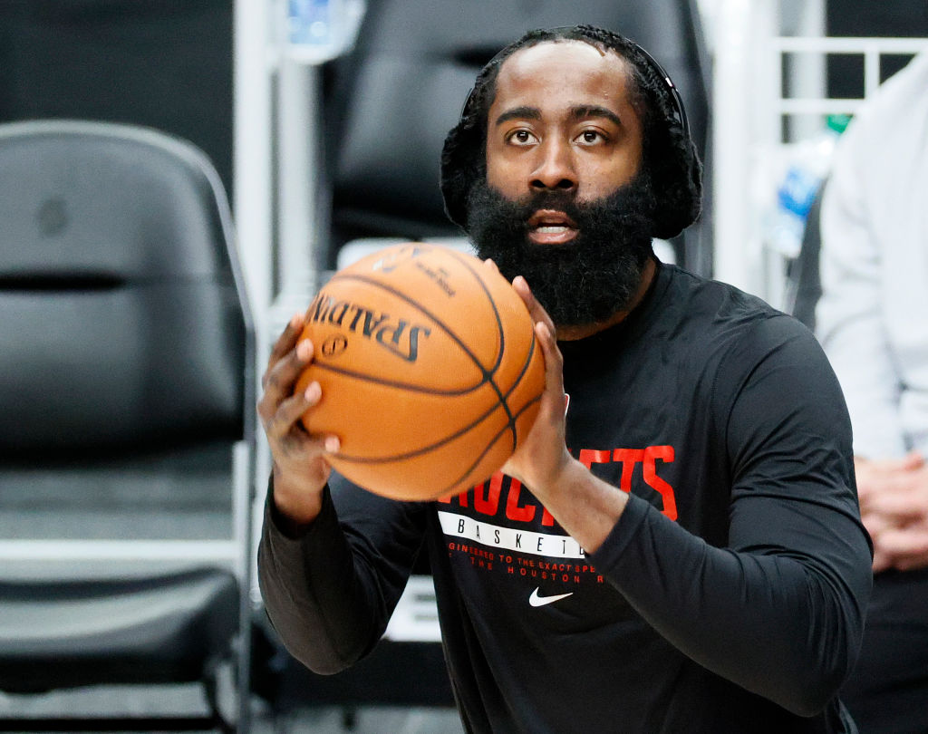 James Harden is now with the Nets