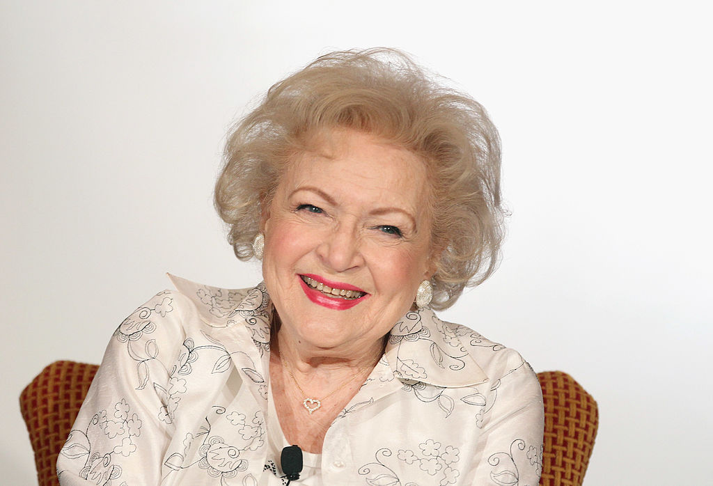 Betty White celebrates her 99th birthday
