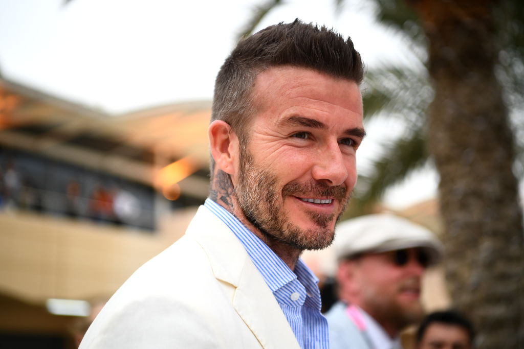 David Beckham's Son Looks Exactly Like His Father