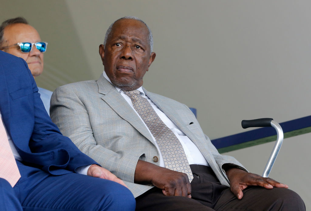 Barack Obama honors Hank Aaron