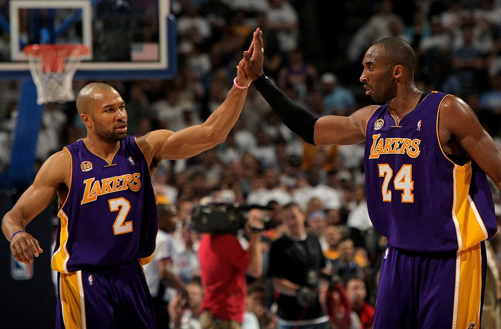Derek Fisher pays tribute to Kobe Bryant