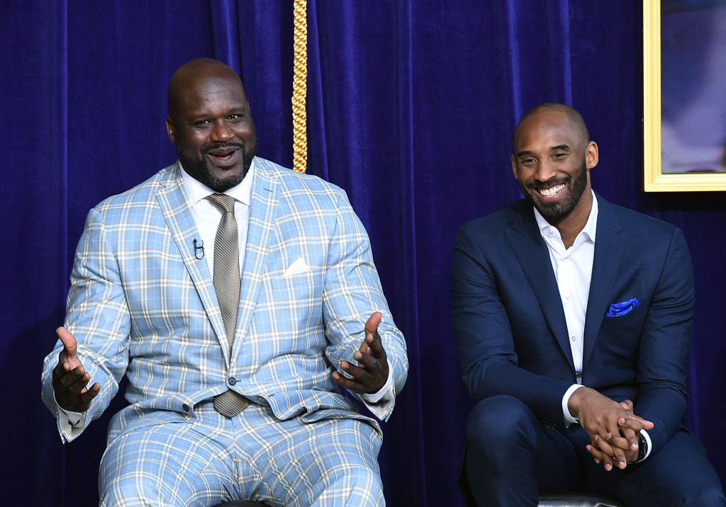 Kobe Bryant and Shaquille O'Neal share a strong bond