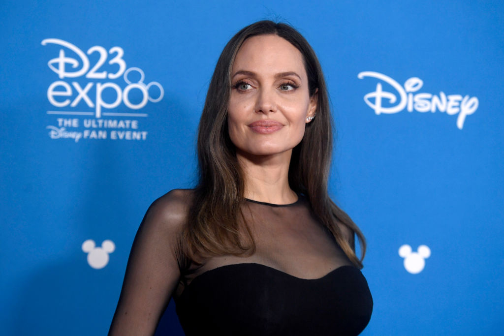 Angelina Jolie is now 45 years old