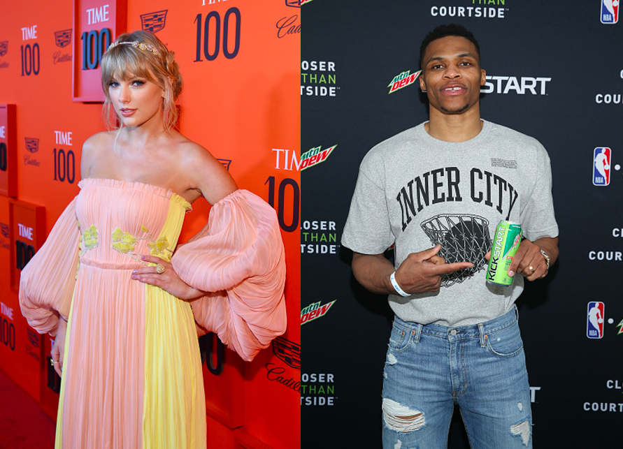 Taylor Swift fans are campaigning for Russell Westbrook