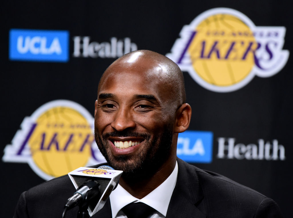 Kobe Bryant died in a helicopter crash last year