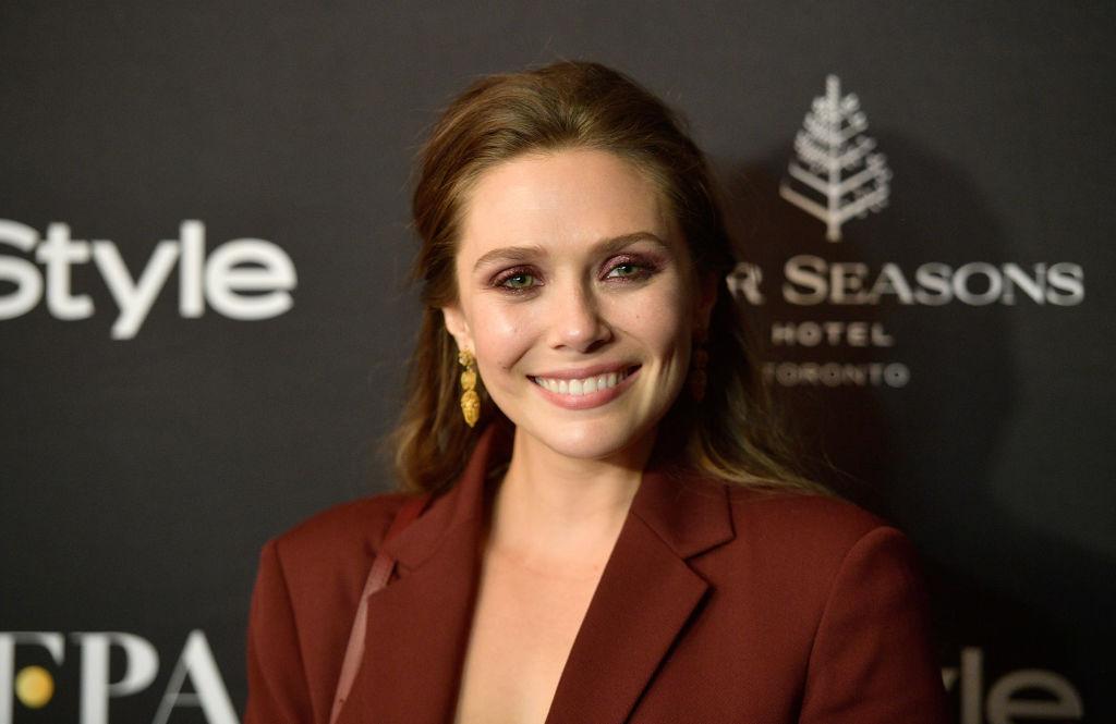 "Elizabeth Olsen stars in ""WandaVision"""