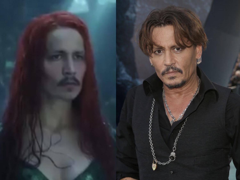Johnny Depp as Mera