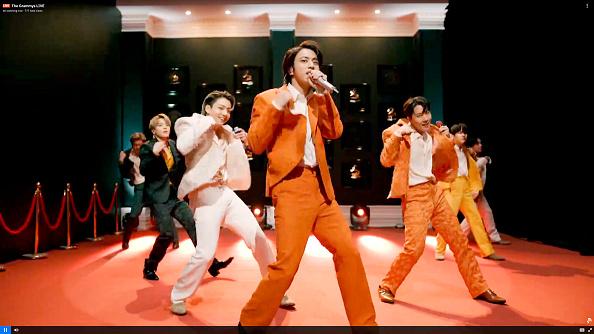 BTS Grammy's 2021 Performance