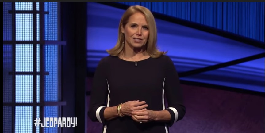 Jeopardy Ratings with Katie Couric