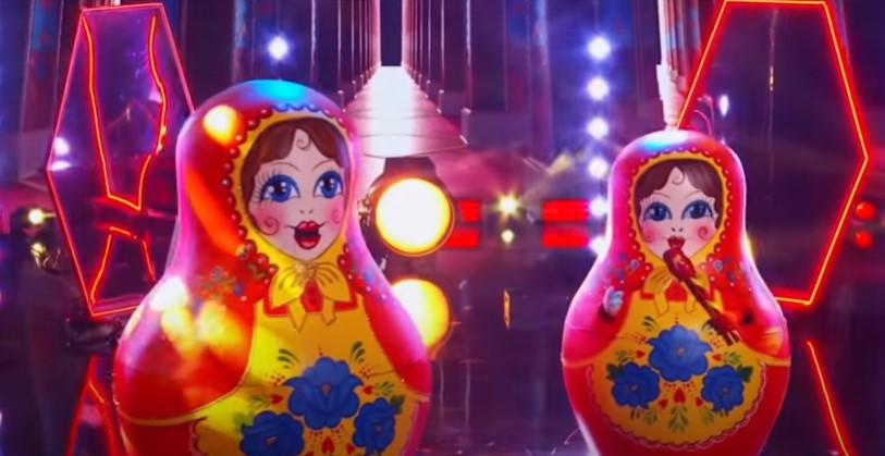 The Masked Singer Russian Dolls