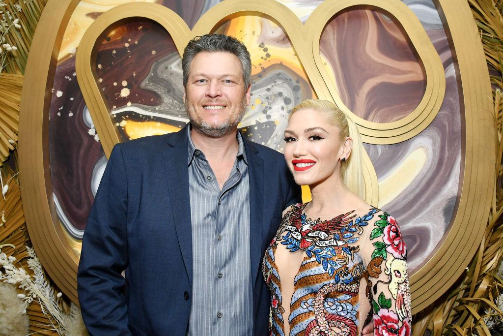 Blake Shelton and Gwen Stefani Wedding