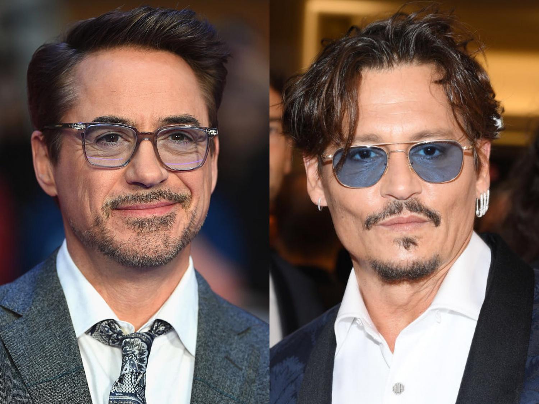 Robert Downey Jr, Johnny Depp
