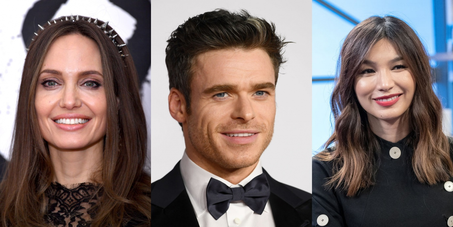 Marvel's The Eternal Reveal Their Cast Including Angelina Jolie, Richard Madden, and Gemma Chan