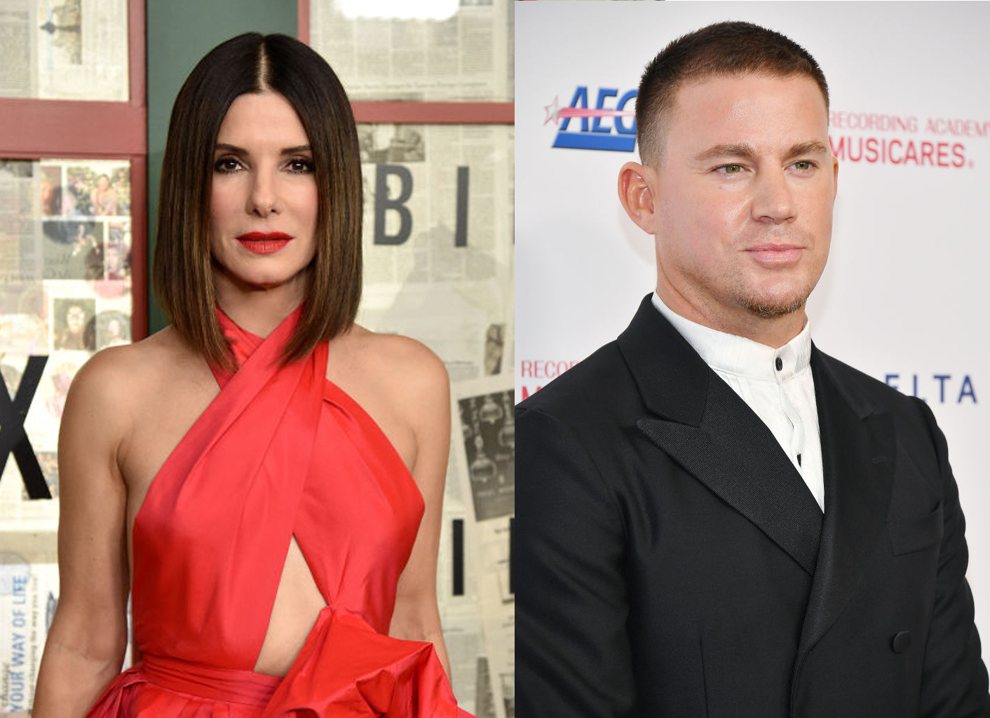 'The Lost City of D' Cast Channing Tatum Captions a Behind-The-Scenes Picture With A Very Sexy Sandra Bullock