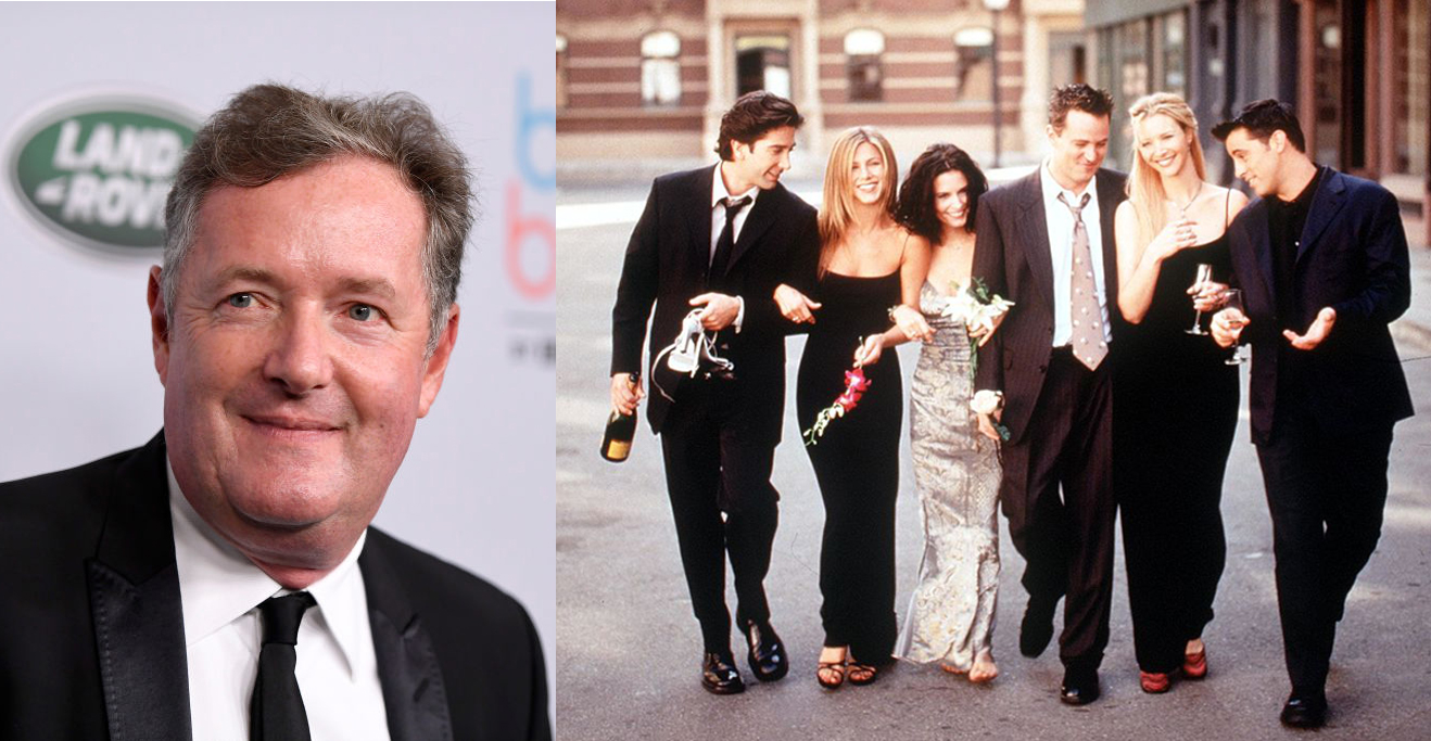 """'Friends' Fans Get Triggered By Piers Morgan's Tweet Claiming The Sitcom as Not """"Funny"""""""