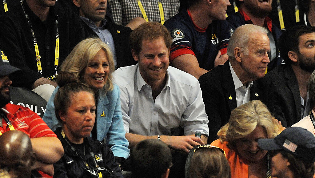 Jill Biden, Prince Harry Duke of Sussex