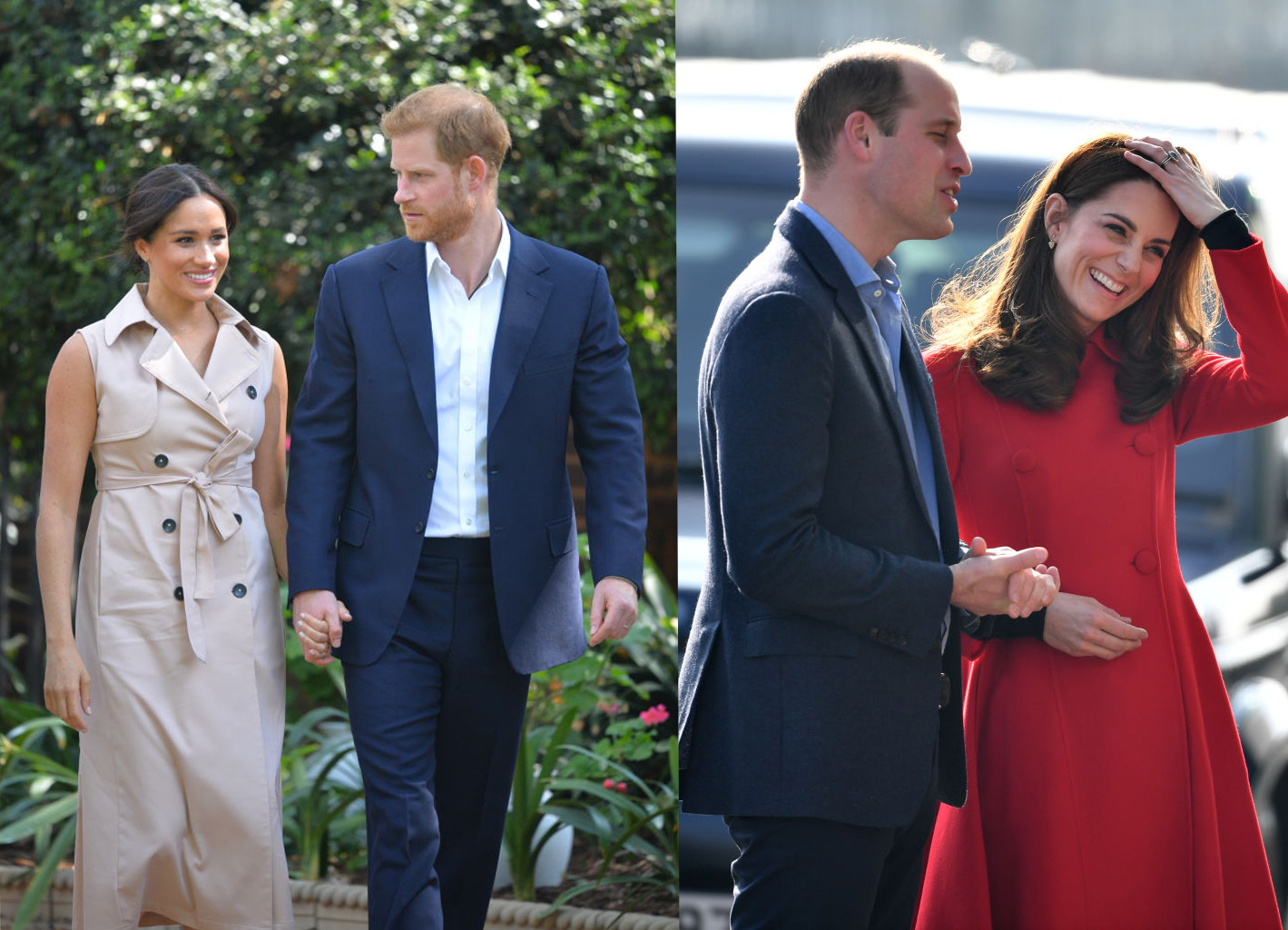 Public Chooses to Respect Royal Couple Prince Harry and Meghan More than Prince William and Kate