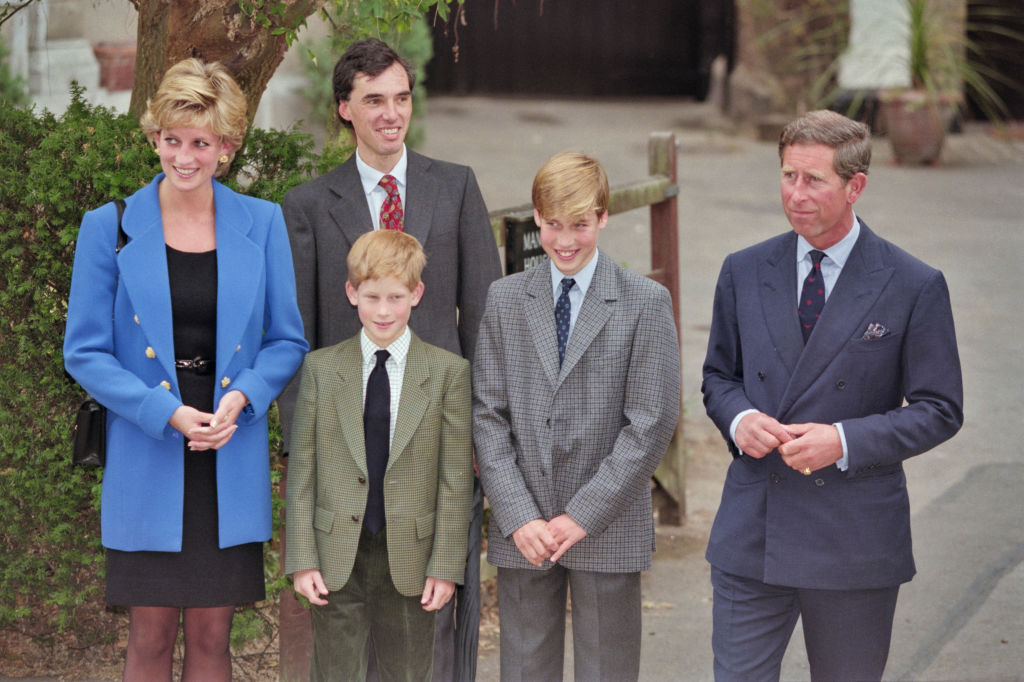 Princess Diana's Final Call Before Her Death Is About Her Sons -- Royal Reporter Reveals